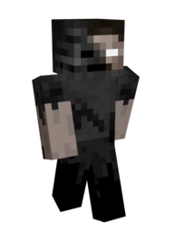 User generated content, most likely a screenshot of a player in Minecraft